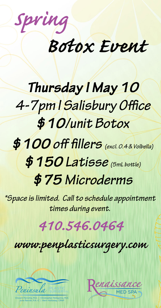 May 10th Botox Event